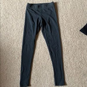 American eagle dark grey leggings XS